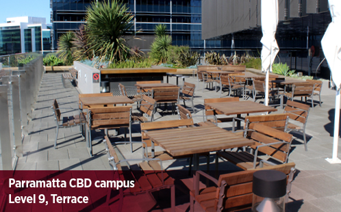 Parramatta CBD Campus, Level 9, Terrace