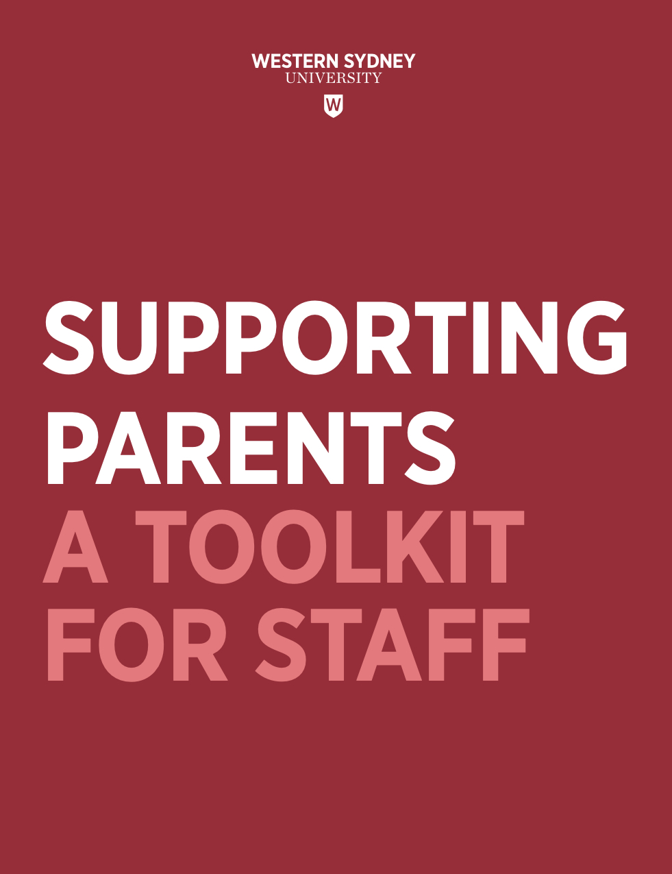 Supporting Parents toolkit link