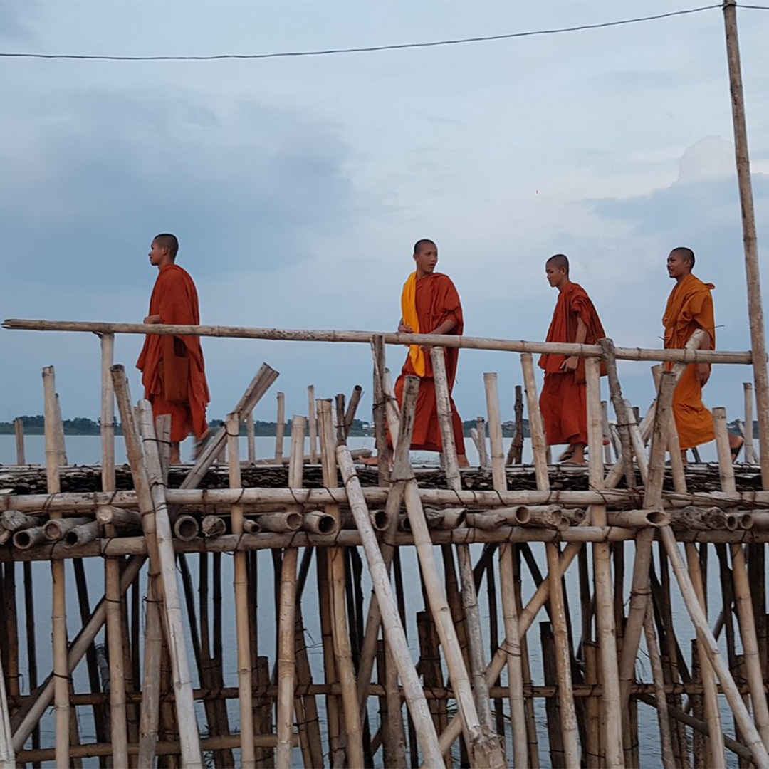 Gibson_Monks_on_Bamboo_Bridge