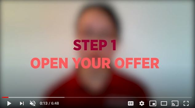 Accept offer video 2