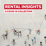 Rental Insights: A COVID Collection small image with an aerial view of people connected by lines.