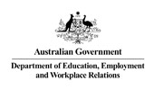 Department of Education, Employment and Workplace Relations logo
