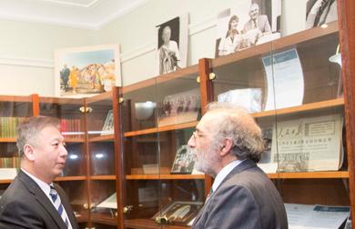 Chinese Consul General visit