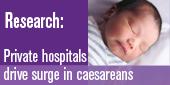 Caesarean study