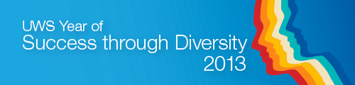 UWS Year of Success through Diversity Web Banner