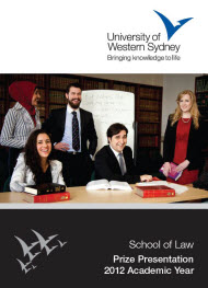 School of Law Prize Presentation 2012