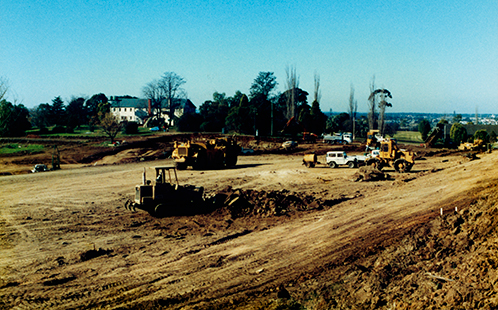 Siteworks at Werrington 1988
