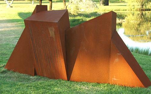 Morgan Shimeld's sculpture Converge