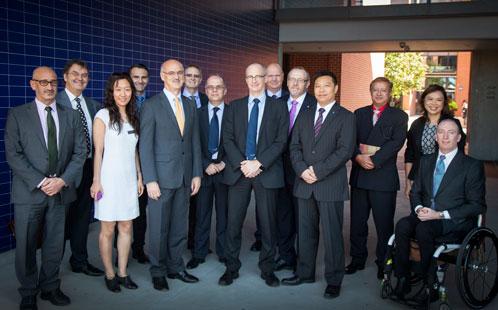 Australia's ambassador to Thailand meets with UWS executives