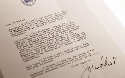 Gough Dismissal Letter