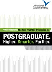 Postgraduate. Higher. Smarter. Further.