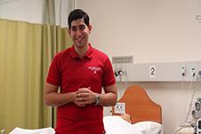 Nursing Student Mohammad Arasteh
