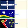 Thumbnail image of three flags