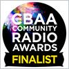 CBAA Community Radio Awards Finalist badge