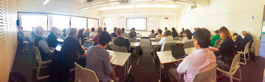 Dr Ren Seminar audience