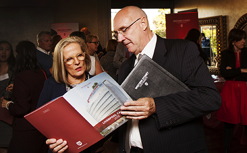 Lucy Turnbull and Barney Glover