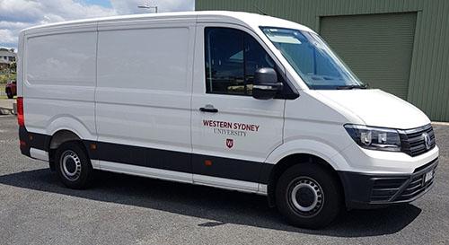 Logistics Van