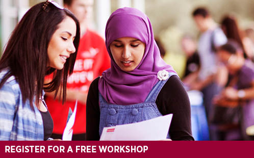 Register for a free workshop