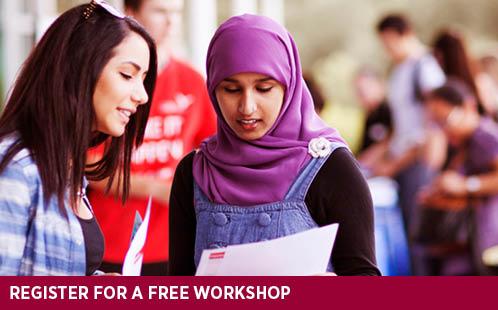 Register for a free workshop