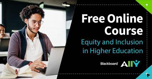 Blackboard Ally - Free Online Course Banner