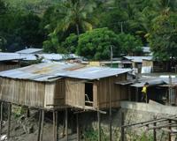 Village in East Timor.