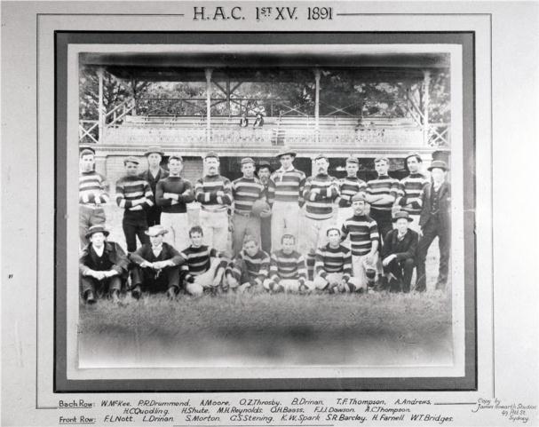 Football HAC 1891