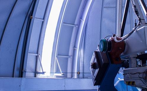 Observatory Telescope Door Opening