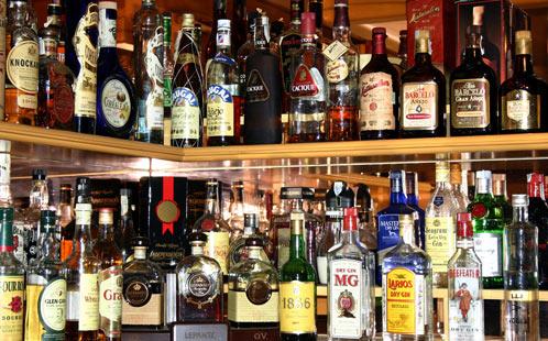 Drinks in bars