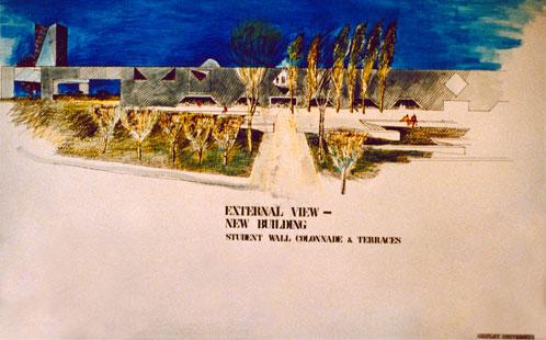 Architect's Impressions of Chifley University, c. 1988