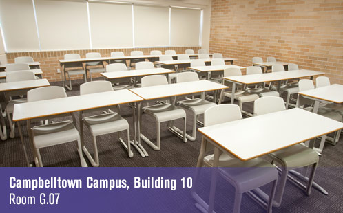 Campbelltown Campus, Building 10, Room G.07