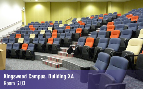 Kingswood Campus, Building XA, Room G.03