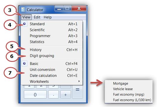 Windows Calculator | Western Sydney University