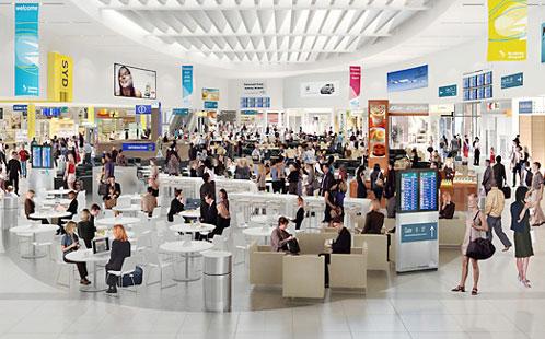 Sydney Airport interior