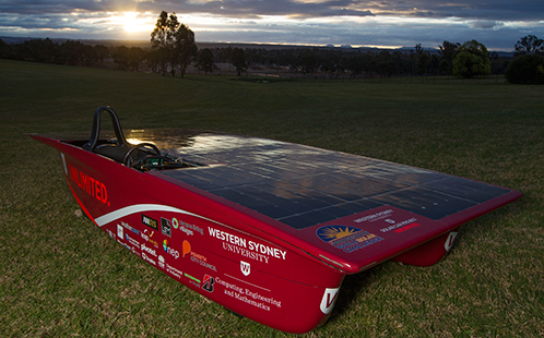 The 2017 Solar Car - 'UNLIMITED