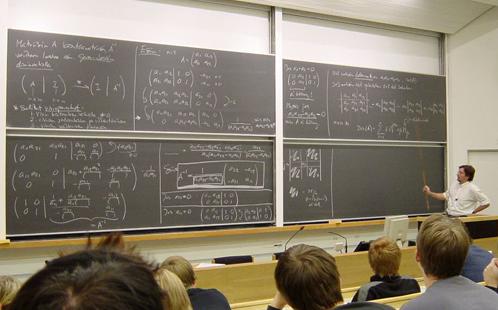 Maths class