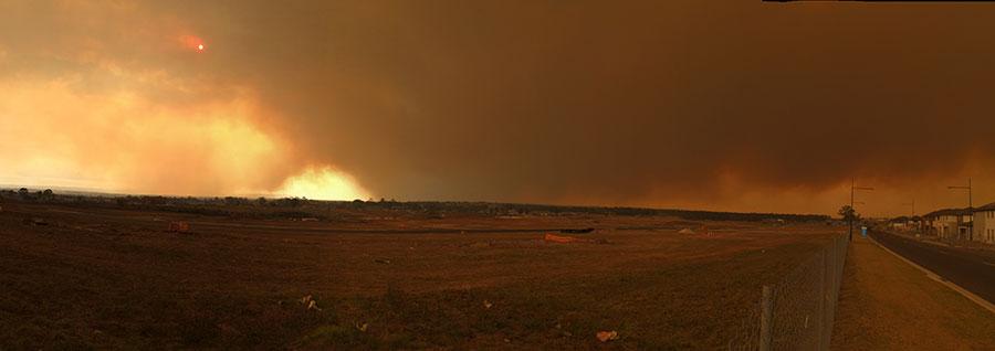 Sydney Bushfires 2013