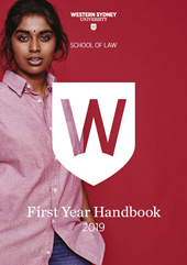 2019 Law First Year Handbook Thumbnail
