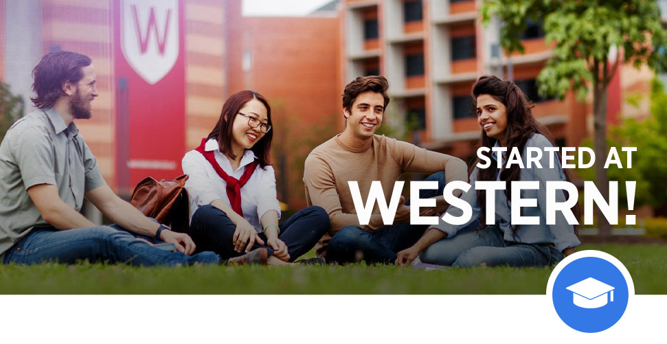 Students at Western