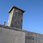 Part of former prison on Robben Island