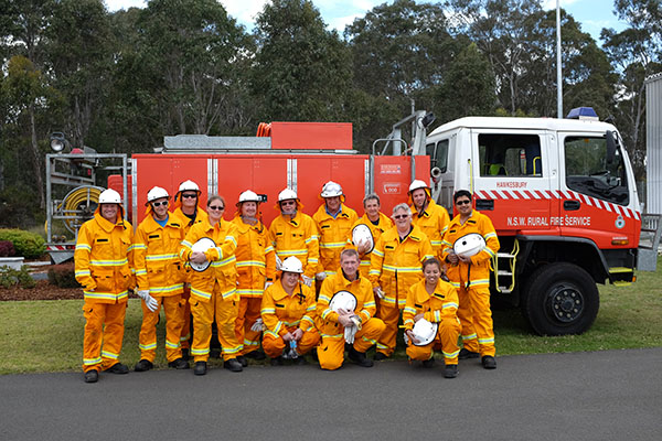 Bushfire Unit at Hawkesbury
