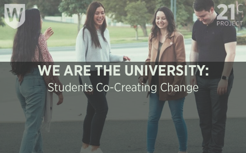 21C Unit - We Are The University
