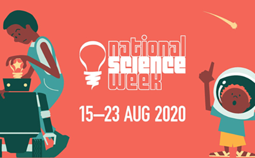 National Science Week promotional banner