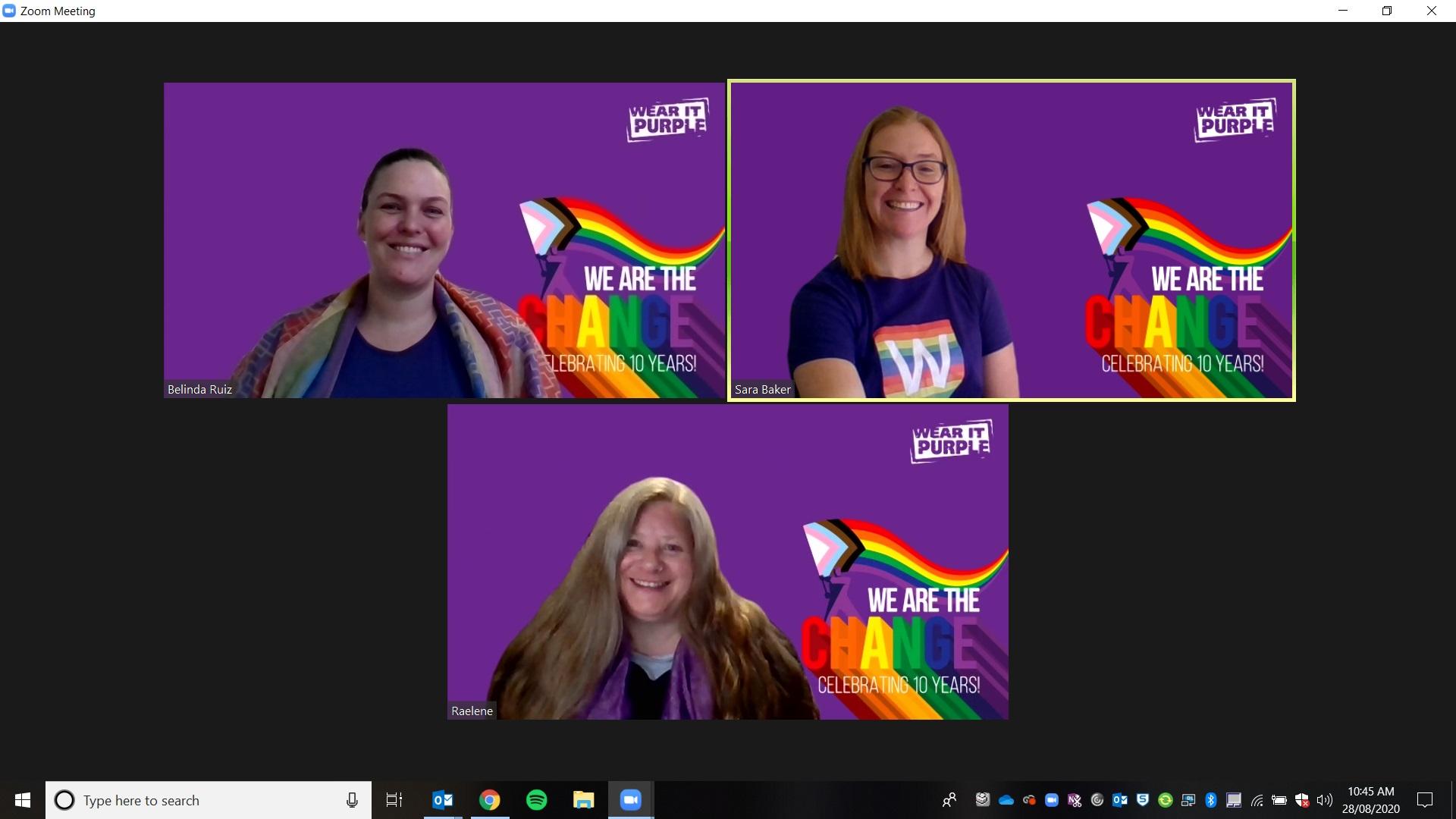School of Math Wear It Purple 2020