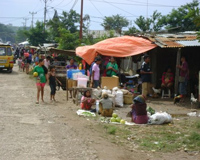 Market in East Timor.