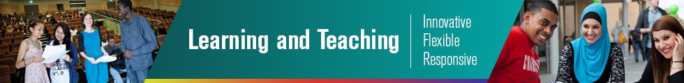 Learning and Teaching Banner