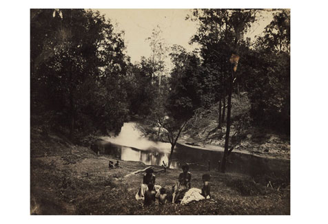 Photographs of Sherwood family, Unumgar, and Richmond River district, 1869