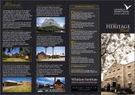 Heritage Walk Brochure Image
