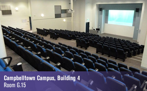 Campbelltown Campus, Building 4, Room G.15