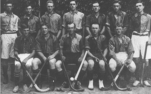 Hockey team - 2nd XI, 1917 [Hawkesbury Agricultural College (HAC)] (P1222)