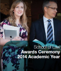 School of Law Prize Presentation 2015